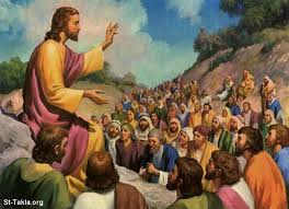 Jesus - crowd
