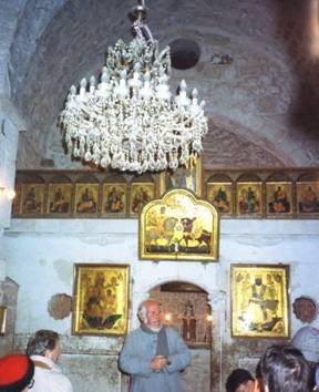 St. Serge Chapel, Ma'Aloula