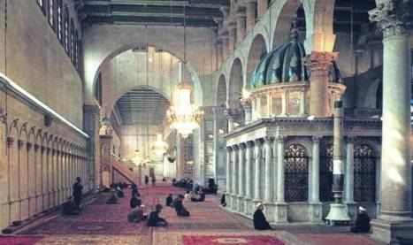 Ummayad Mosque Prayer Hall
