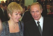 220px-Vladimir_Putin_with_Lyudmila_Putin-1