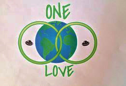 One Love flag design