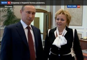 Putin divorce