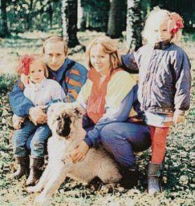 Putin family