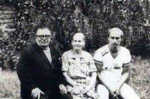Putin & parents