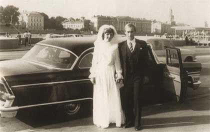 Putin's wedding day