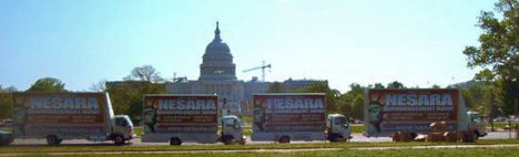NESARA_Ad_Trucks