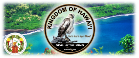 Seal of the King - Hawaii