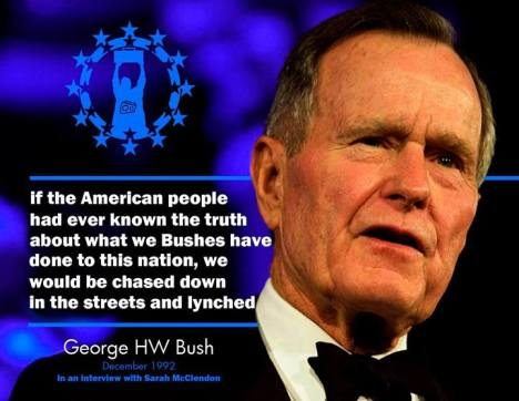 Bush, Sr. statement
