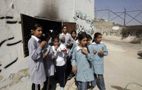 Palestinian school girls