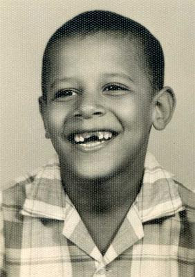 little boy Obama