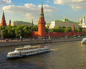 Moscow Kremlin - boat