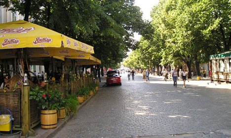 Odeaas's pincial street