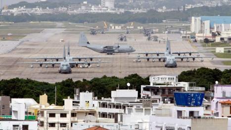 Okinawa US Marine Base