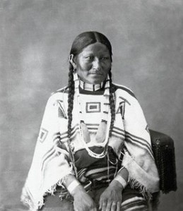 Sioux Indian woman