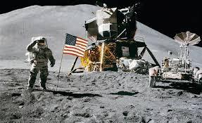 Moon Landing - UFO