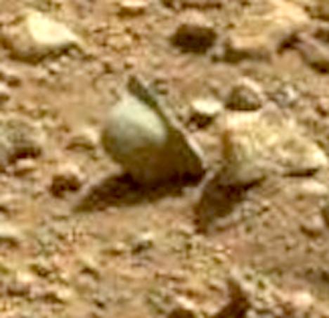 Helmet on Mars