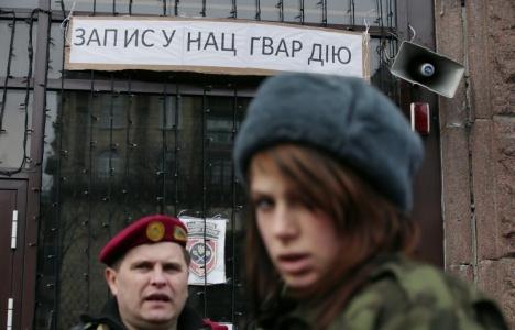 Ukriane soldiers
