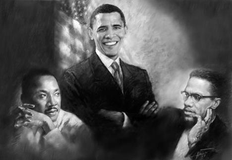 barack-obama-martin-luther-king-jr-and-malcolm-x-ylli-haruni