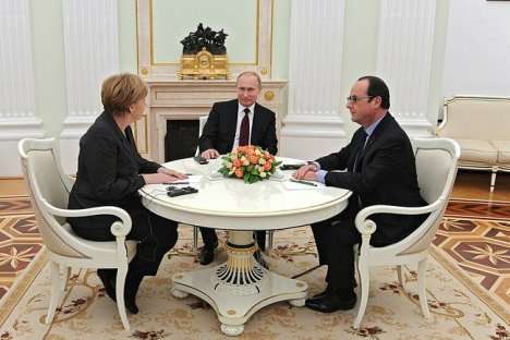 mEETING WITH PUTIN