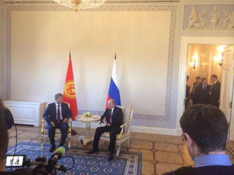 Putin  at Meeting - 3.16.15