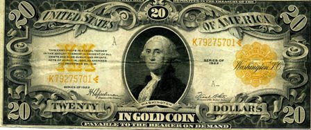 Gold backed Dollar