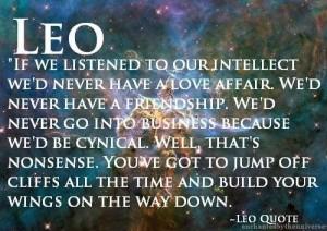 Leo-Quote