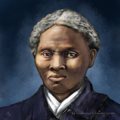 Harriet Tubman - in color