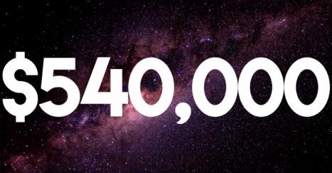 $540,000