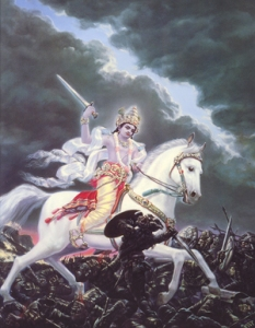 man-on-white-horse